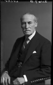 George Charles Bingham, 5th Earl of Lucan, by Walter Stoneman - NPG x164799