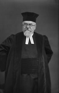 Joseph Herman Hertz, by Walter Stoneman - NPG x164912