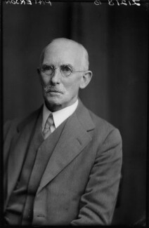 Sir Clifford Copland Paterson, by Walter Stoneman - NPG x164968