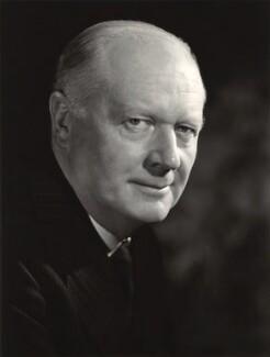 Henry Alexander Benson, Baron Benson, by Walter Bird - NPG x165039