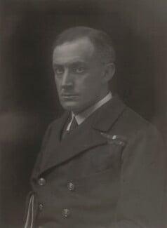(Edward) Hilton Young, 1st Baron Kennet, by Walter Stoneman - NPG x165068