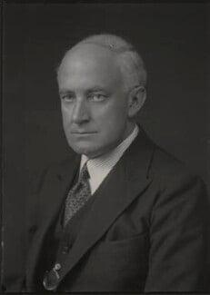 (Edward) Hilton Young, 1st Baron Kennet, by Walter Stoneman - NPG x165069