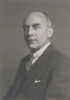 Harold Spencer Jones, by Walter Stoneman - NPG x165081