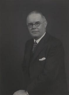 Walter Russell Rea, 1st Baron Rea of Eskdale, by Walter Stoneman - NPG x165085