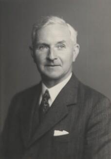 Sir John Edward Lennard-Jones, by Walter Stoneman - NPG x165127