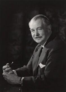 Sir (Arthur) Harold Bibby, by Walter Bird - NPG x165176