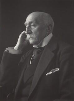 Matthew Lewis Vaughan-Davies, 1st Baron Ystwyth of Tan-y-Bwlch, by Walter Stoneman - NPG x165222