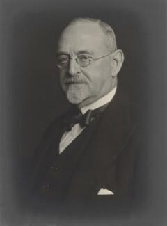 Sir Herbert Edwin Blain, by Walter Stoneman - NPG x165298