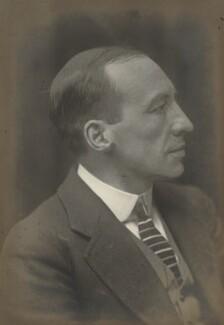 Sir Reginald Blair, 1st Bt, by Walter Stoneman - NPG x165299