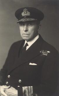 Sir Geoffrey Blake, by Walter Stoneman - NPG x165307