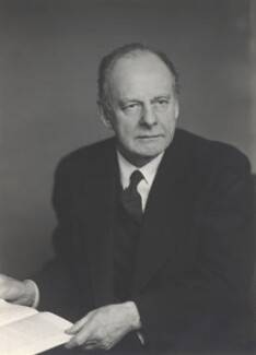 Sir Maurice Bonham-Carter, by Walter Stoneman, March 1948 - NPG x165332 - © National Portrait Gallery, London