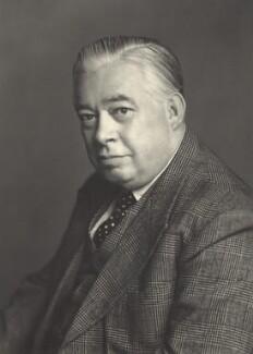 Valentine George Crittall, Baron Braintree, by Walter Stoneman - NPG x165333