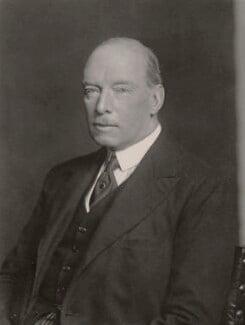 Sir Ronald William Graham, by Walter Stoneman - NPG x165355
