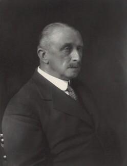 Sir George Bevan Bowen, by Walter Stoneman - NPG x165383