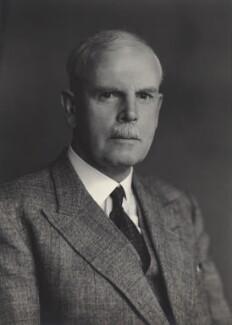 Sir Frederick Chalmers Bourne, by Walter Stoneman - NPG x165384