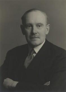 Sir Stewart Graham Menzies, by Walter Stoneman - NPG x165405