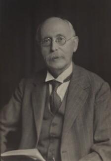 Sir Arthur Lyon Bowley, by Walter Stoneman - NPG x165409
