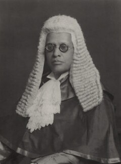 Sir Shadi Lal, by Walter Stoneman - NPG x165472