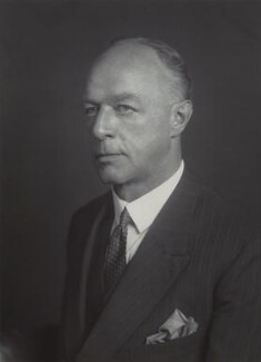 Sir Denys de Saumarez Bray, by Walter Stoneman - NPG x165503