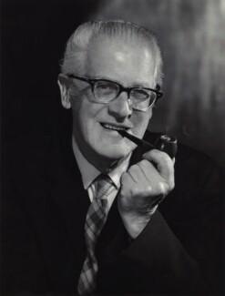 Archibald Fenner Brockway, Baron Brockway, by Walter Bird - NPG x165564