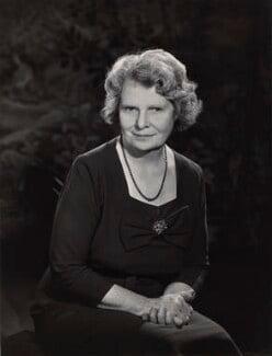 Barbara Brooke, Baroness Brooke of Ystradfellte, by Walter Bird - NPG x165575