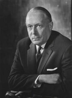 Harold Arthur Watkinson, 1st Viscount Watkinson, by Godfrey Argent - NPG x165632