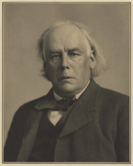 Charles Bradlaugh, by Elliott & Fry - NPG x127413