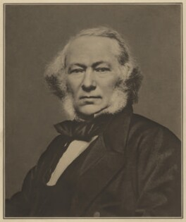 Richard Cobden, by Elliott & Fry, 1863 - NPG  - © National Portrait Gallery, London