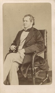 Edward Stanley, 14th Earl of Derby, by W. & D. Downey, 1865 - NPG Ax16243 - © National Portrait Gallery, London