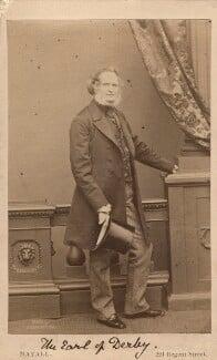 Edward Stanley, 14th Earl of Derby, by John Jabez Edwin Mayall, 1861 - NPG Ax16245 - © National Portrait Gallery, London