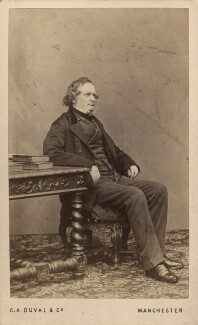 Edward Stanley, 14th Earl of Derby, by C.A. Duval & Co (Charles Allen Du Val), 1863 - NPG Ax16246 - © National Portrait Gallery, London
