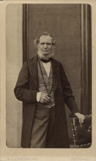Edward Stanley, 14th Earl of Derby, by W. & D. Downey, circa 1867 - NPG Ax16247 - © National Portrait Gallery, London