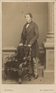 Edward Henry Stanley, 15th Earl of Derby, by John Jabez Edwin Mayall, 1861 - NPG Ax16248 - © National Portrait Gallery, London