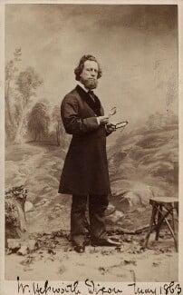 William Hepworth Dixon, by Ferdinand Jean de la Ferté Joubert - NPG Ax16253
