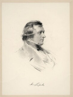 Henry Tufnell, by William Holl Jr, after  George Richmond - NPG D20657