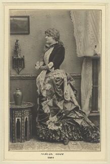 Marion Hood (née Sarah Ann Isaac), by Elliott & Fry - NPG x127442