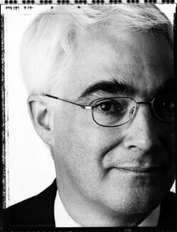Alistair Darling, by David Partner - NPG x127366