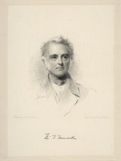 Thomas Francis Fremantle, 1st Baron Cottesloe, by William Holl Jr, after  George Richmond - NPG D20661