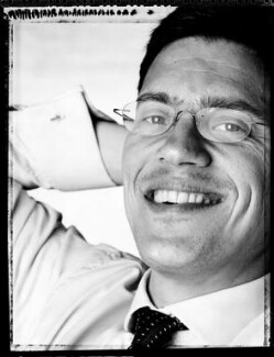 David Miliband, by David Partner, 9 June 2004 - NPG  - © David Partner