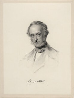 Charles Wood, 1st Viscount Halifax, by William Holl Jr, after  George Richmond, (1861) - NPG D20662 - © National Portrait Gallery, London