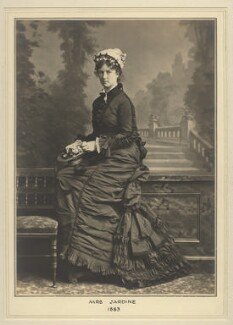 Mrs Jardine, by Elliott & Fry - NPG x127445