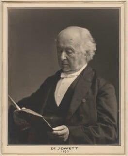Benjamin Jowett, by Elliott & Fry, 1890 - NPG x127449 - © National Portrait Gallery, London