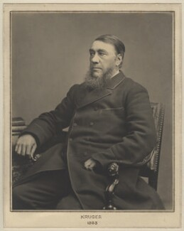 Stephanus Johannes Paulus ('Paul') Kruger, by Elliott & Fry - NPG x127452