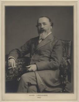 Henry du Pré Labouchère, by Elliott & Fry, 1887 - NPG x127453 - © National Portrait Gallery, London