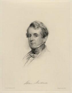 Sir William Heathcote, 5th Bt, by Joseph Brown, after  George Richmond - NPG D20665