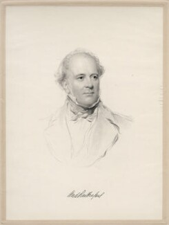 Andrew Rutherfurd (né Bervie), Lord Rutherfurd, possibly by Frederick Christian Lewis Sr, after  George Richmond - NPG D20667