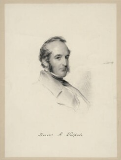 Spencer Horatio Walpole, by William Holl Jr, after  George Richmond, 1852 or after - NPG D20669 - © National Portrait Gallery, London