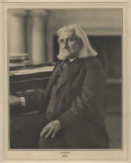 Franz Liszt, by Elliott & Fry - NPG x127459