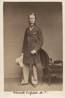 George Henry Charles Byng, 3rd Earl of Strafford, by John & Charles Watkins - NPG Ax16261