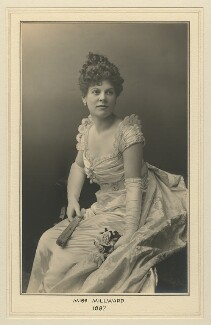 Jessie Millward (Mrs John Glendinning), by Elliott & Fry - NPG x127465